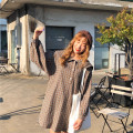 Dress Autumn of 2018 Picture color Average size Short skirt singleton  Long sleeves Sweet Admiral Loose waist lattice other Others 18-24 years old Type H Other / other cotton college