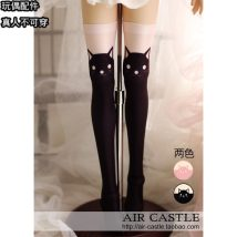 BJD doll zone Socks 1/3 Over 14 years old goods in stock Striped little black cat black little black cat Stock (3 working days delivery) real person can not wear, this option is invalid Other / other