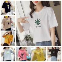 T-shirt The average size of women's clothing is about 80-110 Jin, and the large size of women's clothing is about 90-140 Jin Starting from 30 pieces, starting from 50 pieces, starting from 150 pieces Summer 2020 Short sleeve Crew neck easy Regular commute cotton 86% (inclusive) -95% (inclusive)