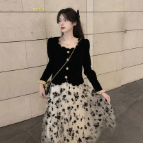 Fashion suit Spring 2021 Average size Skirt piece, top piece 18-25 years old