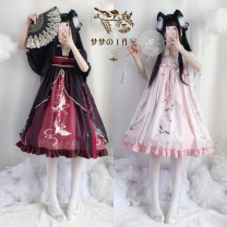 Dress Summer 2020 Red strap + black strap, pink strap + white strap, red strap skirt, pink strap skirt, pink strap + white strap, red strap + black strap S,M,L
