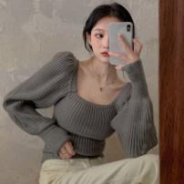 Wool knitwear Autumn 2020 Average size Picture color Socket cotton 31% (inclusive) - 50% (inclusive) commute Self cultivation