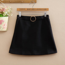 skirt Spring 2021 S,M,L Black, camel Short skirt Versatile High waist Pencil skirt Solid color Type H 25-29 years old 51% (inclusive) - 70% (inclusive) other Cellulose acetate Three dimensional decoration
