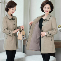 short coat Autumn of 2019 L [recommended 85-100 kg], XL [recommended 100-115 kg], XXL [recommended 115-130 kg], 3XL [recommended 130-145 kg], 4XL [recommended 145-160 kg], 5XL [recommended 160-175 kg] Camel, red, beige Long sleeves Medium length routine singleton  Self cultivation commute routine