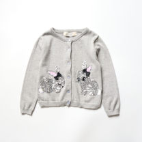 Sweater / sweater cotton Other / other female Cartoon animation 12 months, 18 months, 2 years old, 3 years old, 4 years old, 5 years old, 6 years old, 7 years old, 8 years old, 9 years old, 10 years old, 11 years old, 12 years old, 13 years old, 14 years old Single breasted Crew neck Thin nothing