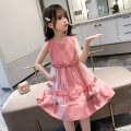 Dress 1191 dress red, 1191 dress yellow, 1191 dress pink, rose flower female Other / other The recommended height is 100cm for Size 110, 110cm for Size 120, 120cm for Size 130, 130cm for size 140, 140cm for size 150 and 150cm for size 160 Other 100% summer Skirt / vest 1191 dress Class B Huzhou City