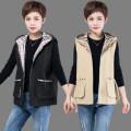 Vest Autumn 2020 Black, green, khaki L,XL,2XL,3XL,4XL routine Hood Versatile Solid color zipper 91% (inclusive) - 95% (inclusive) cotton
