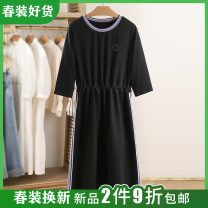 Dress Spring 2021 White, black S,M,L,XL,2XL Other / other Y0175127