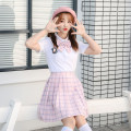 student uniforms Autumn of 2019 S,M,L,XL Short sleeve solar system skirt ROCY·HAN pure cotton 81% (inclusive) - 90% (inclusive)