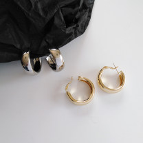 Earrings other RMB 1.00-9.99 Other / other brand new female Japan and South Korea goods in stock Fresh out of the oven Not inlaid other