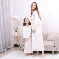Home skirt / Nightgown Princess House Other 100% Four seasons female Anti static, moisture and sweat absorption Class A cotton