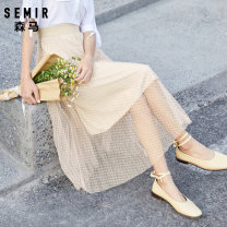 skirt Summer 2020 155/62A/S 160/66A/M 165/70A/L 170/74A/XL Blue to d0188, yellow to d0133 Mid length dress commute Natural waist Pleated skirt lattice Type A 18-24 years old 19-220200201 More than 95% Semir / SEMA polyester fiber Korean version Polyester 100% Pure e-commerce (online only)