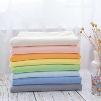 Fabric / fabric / handmade DIY fabric cotton Yellow, off white, green, blue, gray, pink, orange, light blue Loose shear piece Solid color Yarn dyed weaving clothing Others Mom and Dad 91% (inclusive) - 100% (exclusive) Hebei Province Zhangjiakou City Chinese Mainland