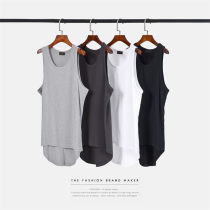 Vest / vest Youth fashion Others White 7713, light gray 7713, dark gray 7713, black 7713, collect treasure and give gifts to shops, priority delivery M L XL Other leisure easy Sweat vest routine summer Crew neck youth 2018 tide be-7713 Solid color Round hem No iron treatment