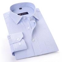 shirt Business gentleman 38,39,40,41,42,43,44 routine Pointed collar (regular) Long sleeves standard Other leisure Four seasons