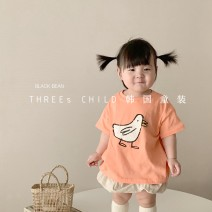 T-shirt Orange (reserved), off white (reserved), green (reserved) Other / other S(90cm),M(100cm),L(110cm),XL(120cm),S(3~6m),M(6~12m) neutral other other 18 months, 2 years old, 3 years old, 4 years old, 5 years old, 6 years old, 7 years old, 8 years old