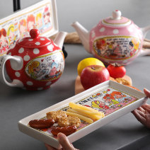Bottle / can Chinese Mainland ceramics Self made pictures Seasoning bottle / can Cartoon Nordic style yes