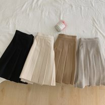 skirt Autumn of 2019 XS,S,M,L Short skirt Versatile Natural waist 71% (inclusive) - 80% (inclusive) other other