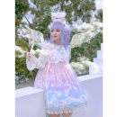 Dress Winter 2020 Transparent white Average size singleton  Sweet Others Lolita