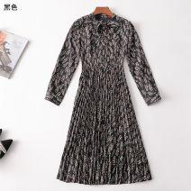 Dress Autumn 2020 [black], [light yellow] [s code], [M code], [l code], [XL code] Other / other 31% (inclusive) - 50% (inclusive)