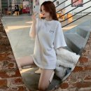 T-shirt M L XL XXL Spring 2021 Short sleeve Crew neck easy Regular routine commute polyester fiber 86% (inclusive) -95% (inclusive) 18-24 years old Korean version originality Check solid Immortal element Polyester 95% polyurethane elastic fiber (spandex) 5% Pure e-commerce (online only)