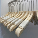 coat hanger 10 wood Eden hanger public 38CM 38.5CM 39.5CM Wardrobe / cloakroom Solid color Chinese style yes adult No mark, no bulge Chinese Mainland Shanghai Shanghai