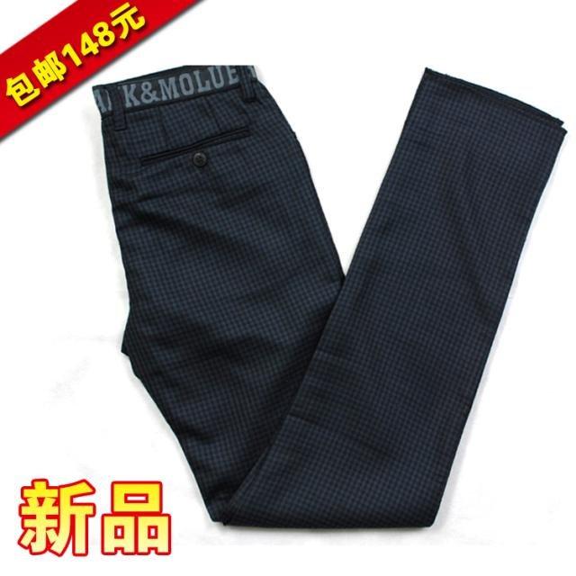 Casual pants другое 004 34 38 черный Микро-бомба Другие развлечения брюки стройный Средняя талия Модный прилив