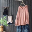 Sweater / sweater Winter 2020 Black, orange, pink, beige Single size (loose) Long sleeves routine Socket singleton  routine Hood easy commute routine Solid color 25-29 years old 51% (inclusive) - 70% (inclusive) yoko girl Simplicity nylon Lace up, button nylon