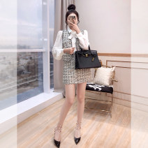 Fashion suit Spring 2021 S,M,L Black and white 25-35 years old Justvivi style T00006075