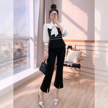 Fashion suit Spring 2021 S,M,L,XL black 25-35 years old Justvivi style T00006144