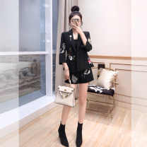Fashion suit Spring 2021 S,M,L,XL black 25-35 years old Justvivi style