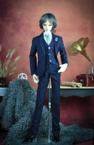 BJD doll zone suit 1/3 Over 14 years old Customized Blue black bar 70cm, dragon soul 73, 74 uncle, four points, 65cm, three points, Zhuang uncle, Eid, blood uncle