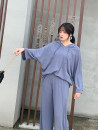 Women's large Spring 2020 Large XL, large XXL, large XXL, large XXXXL, large XXXXL Sweater / sweater singleton  Sweet easy moderate Socket Long sleeves Solid color routine Polyester, cotton Three dimensional cutting 25-29 years old Ruili