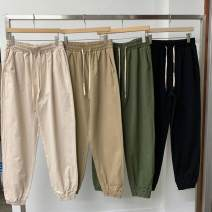 Casual pants Others Youth fashion Khaki, black, cream, beige M,L,XL trousers Other leisure easy 200824XF1.0ZE Exquisite Korean style 2020