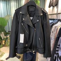 leather clothing Others Youth fashion Black, black (domestic stock) M,L,XL have cash less than that is registered in the accounts Imitation leather clothes 190904PG48MM