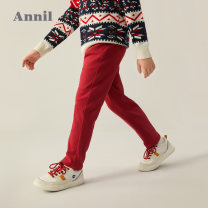 trousers middle-waisted Rubber belt Class B male Annil / anel Three, four, five, six, seven, eight, nine, ten, eleven, twelve, thirteen, fourteen trousers spring and autumn Casual pants There are models in the real shot other leisure time Cotton 94.2% polyurethane elastic fiber (spandex) 5.8%