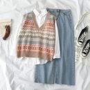 Fashion suit Autumn of 2019 S. M, l, average size 18-25 years old 51% (inclusive) - 70% (inclusive) cotton