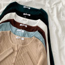 Wool knitwear Spring 2021 Average size Black, green, blue, brown, apricot, white Long sleeves singleton  Cardigan acrylic fibres More than 95% have cash less than that is registered in the accounts routine commute Self cultivation other routine Solid color Single breasted Korean version Button