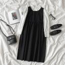 Fashion suit Spring 2021 Average size Navy skirt, black skirt, white shirt, light blue shirt 18-25 years old 96% and above polyester fiber