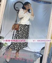 skirt Summer 2020 M black longuette grace High waist A-line skirt Decor other other