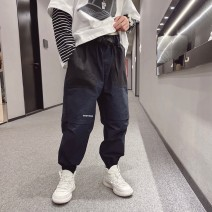 trousers Other / other male 120cm / 120, 130cm / 130, 140cm / 140, 150cm / 150, 160cm / 160, 170cm / 170 summer trousers leisure time There are models in the real shooting Casual pants Leather belt middle-waisted Cotton blended fabric Don't open the crotch -- --
