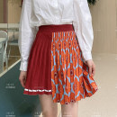 skirt Spring 2021 Average size, 1 yuan to enjoy a large discount, do not support refund Ts-1ss009y / orange TS-1SS009Y