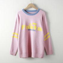 sweater Winter of 2018 Average size Pink, black, off white Mink 31% (inclusive) - 50% (inclusive)