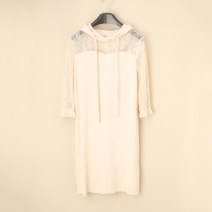 Dress Autumn 2020 Light apricot, Grey Pink XS,S,M,L Mitt 2ZN1083480