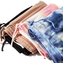 Casual pants Black, blue, pink, coffee XXS,XS,S,M,L,XL,XXSP,XST,ST,MT,LP,LT,XLT,1X,2X,2XP,2XT,3X,3XT,4X,4XT,5X,5XT,5XP Autumn 2020 trousers Straight pants Natural waist routine 25-29 years old 96% and above U453 Other / other cotton cotton