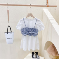suit Other / other White two piece set~ Clothing label 5 / 100, recommended height 95cm, clothing label 7 / 110, recommended height 105cm, clothing label 9 / 120, recommended height 115cm, clothing label 11 / 130, recommended height 125cm, clothing label 13 / 140, recommended height 135cm female