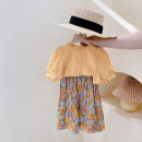 suit Other / other Yellow two-piece Set ~, pink two-piece set~ female summer Europe and America Short sleeve + skirt 2 pieces routine No model Socket nothing other children Giving presents at school Other 100% 9, 8, 2, 3, 4, 5, 6, 7, 10, 11