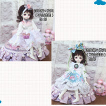 BJD doll zone Dress 1/6 Over 14 years old goods in stock Blue (socks), pink (socks) 6 points small dress BJD clothes clothes