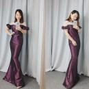 Dress Summer of 2018 violet Average size