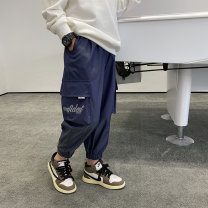 trousers Other / other male 130, 140, 150, 160, 170 spring and autumn trousers Korean version There are models in the real shooting Casual pants Leather belt middle-waisted Don't open the crotch Polyester 100% Class B Five, six, seven, eight, nine, ten, eleven, twelve, thirteen, fourteen